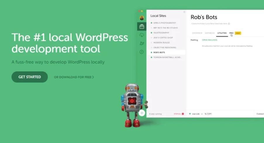 WordPress lokal installieren